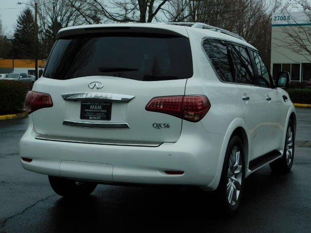 2012 Infiniti QX56 Sport Utility / 4WD / LOADED / 1-OWNER / Excel Con - Photo 8 - Portland, OR 97217