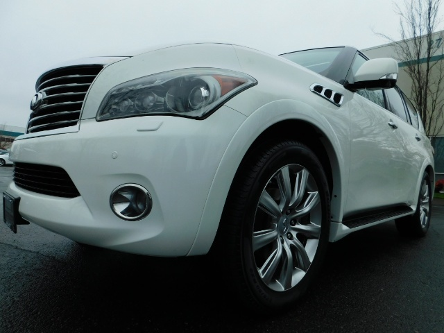 2012 Infiniti QX56 Sport Utility / 4WD / LOADED / 1-OWNER / Excel Con - Photo 9 - Portland, OR 97217