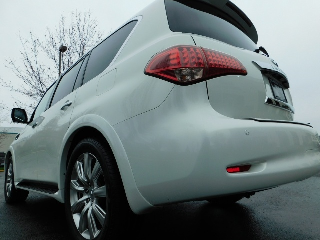 2012 Infiniti QX56 Sport Utility / 4WD / LOADED / 1-OWNER / Excel Con - Photo 11 - Portland, OR 97217