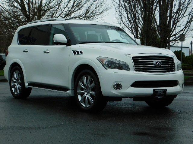 2012 Infiniti QX56 Sport Utility / 4WD / LOADED / 1-OWNER / Excel Con - Photo 2 - Portland, OR 97217