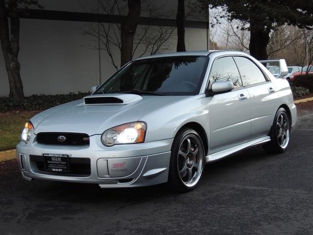 2004 subaru impreza wrx sti 6 speed manual awd turbo timing belt done 2004 subaru impreza wrx sti 6 speed