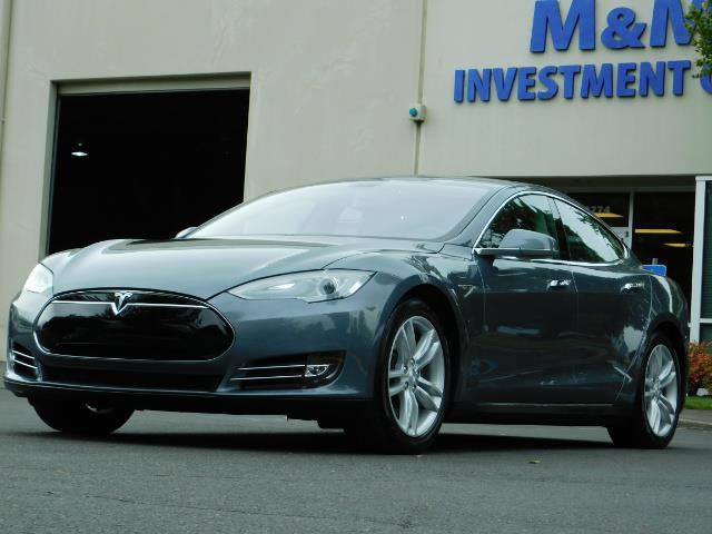 2013 Tesla Model S Tech Package / Smart Suspention / Leather / heated - Photo 42 - Portland, OR 97217