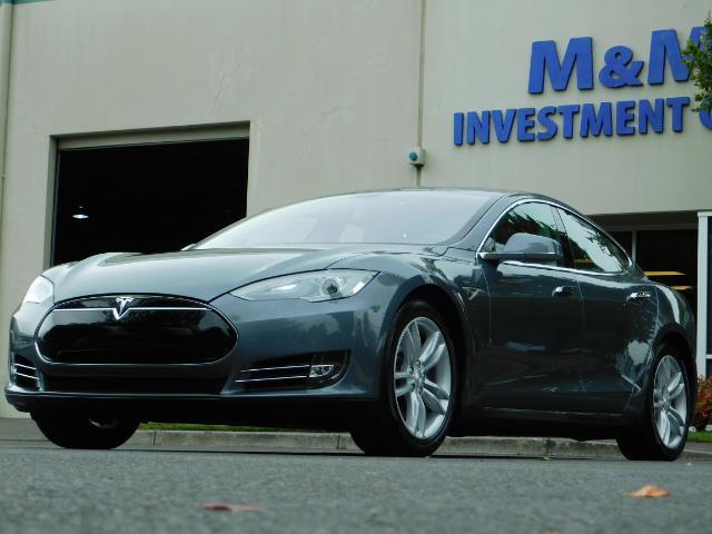 2013 Tesla Model S Tech Package / Smart Suspention / Leather / heated - Photo 43 - Portland, OR 97217