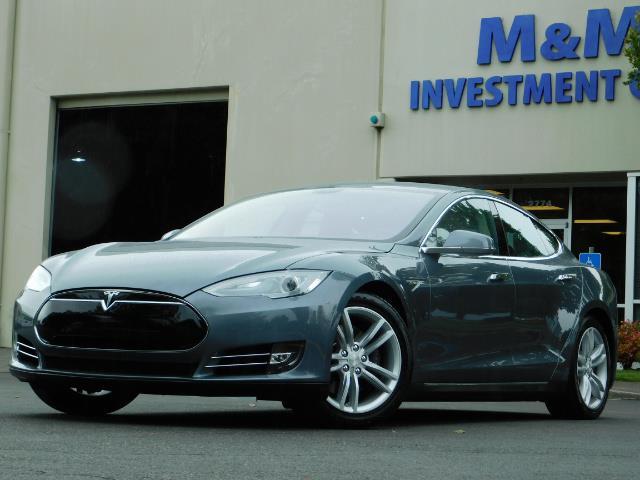 2013 Tesla Model S Tech Package / Smart Suspention / Leather / heated - Photo 41 - Portland, OR 97217