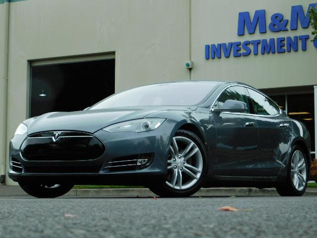 2013 Tesla Model S Tech Package / Smart Suspention / Leather / heated - Photo 40 - Portland, OR 97217