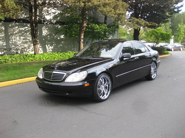Perfect 2001 Mercedes Benz S430 Sedan LWB NAVIGATION / Leather/Custom Wheels    Photo 1
