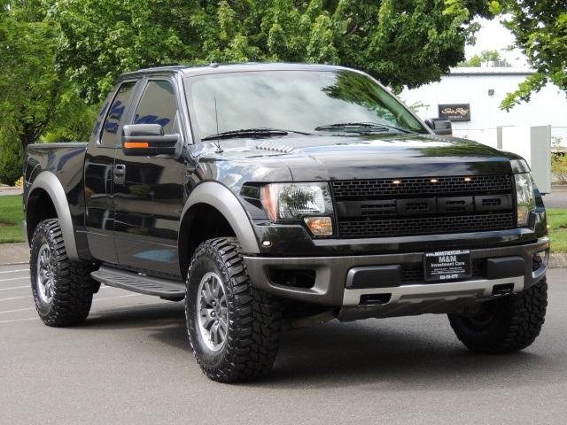 2010 Ford F 150 SVT Raptor 4X4 Navigation LIFTED MUD TIRES