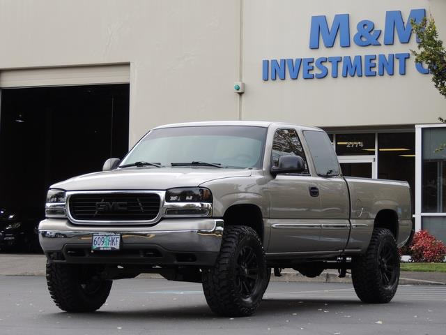 2002 Gmc Sierra 1500 Sle Extended Cab 4 Door Lifted Photo
