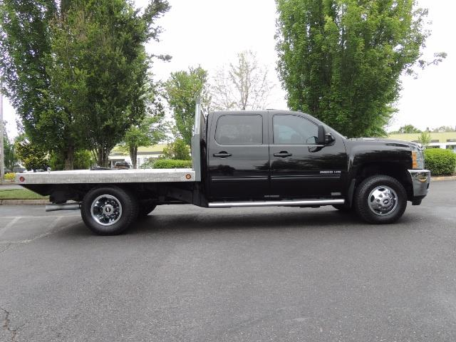 2011 Chevrolet Silverado 3500 LTZ DUALLY 4X4 FLAT BED 6.6L DURAMAX ALLISON - Photo 4 - Portland, OR 97217