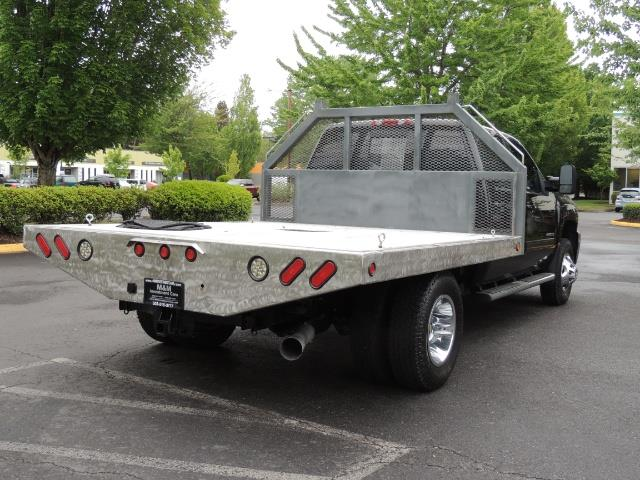 2011 Chevrolet Silverado 3500 LTZ DUALLY 4X4 FLAT BED 6.6L DURAMAX ALLISON - Photo 8 - Portland, OR 97217