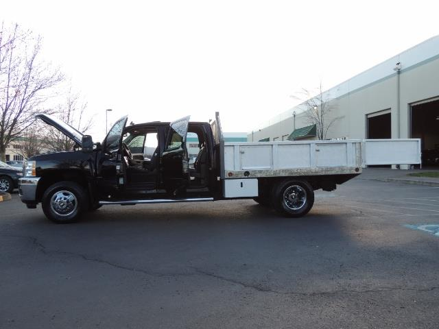 2011 Chevrolet Silverado 3500 LTZ DUALLY 4X4 FLAT BED 6.6L DURAMAX ALLISON - Photo 43 - Portland, OR 97217