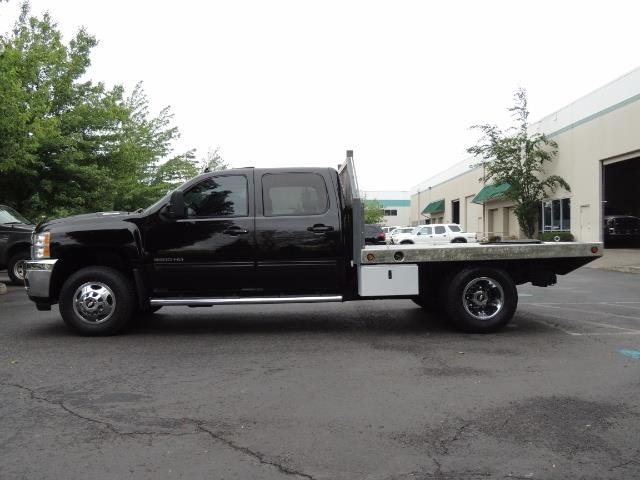 2011 Chevrolet Silverado 3500 LTZ DUALLY 4X4 FLAT BED 6.6L DURAMAX ALLISON - Photo 3 - Portland, OR 97217