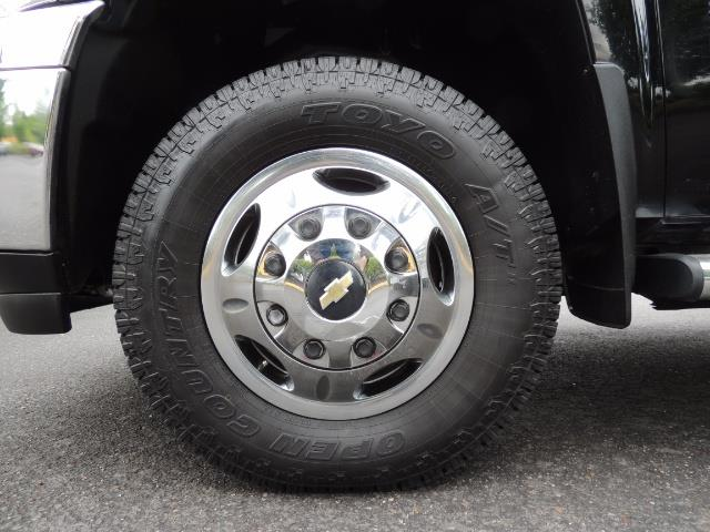 2011 Chevrolet Silverado 3500 LTZ DUALLY 4X4 FLAT BED 6.6L DURAMAX ALLISON - Photo 32 - Portland, OR 97217