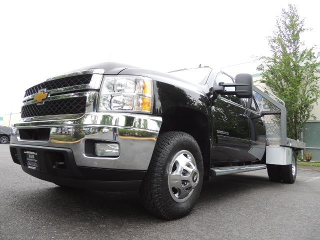 2011 Chevrolet Silverado 3500 LTZ DUALLY 4X4 FLAT BED 6.6L DURAMAX ALLISON - Photo 53 - Portland, OR 97217