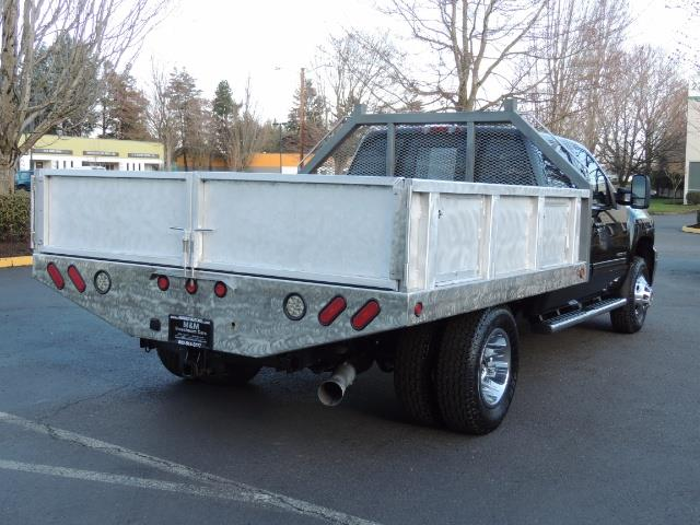 2011 Chevrolet Silverado 3500 LTZ DUALLY 4X4 FLAT BED 6.6L DURAMAX ALLISON - Photo 22 - Portland, OR 97217