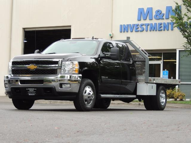 2011 Chevrolet Silverado 3500 LTZ DUALLY 4X4 FLAT BED 6.6L DURAMAX ALLISON - Photo 1 - Portland, OR 97217