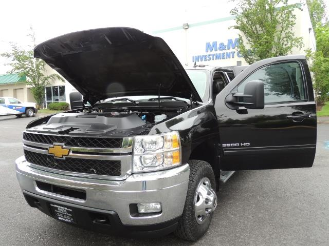 2011 Chevrolet Silverado 3500 LTZ DUALLY 4X4 FLAT BED 6.6L DURAMAX ALLISON - Photo 28 - Portland, OR 97217