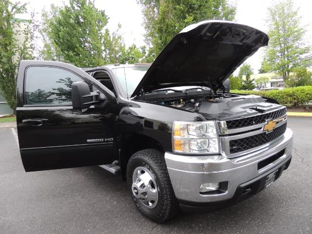 2011 Chevrolet Silverado 3500 LTZ DUALLY 4X4 FLAT BED 6.6L DURAMAX ALLISON - Photo 31 - Portland, OR 97217