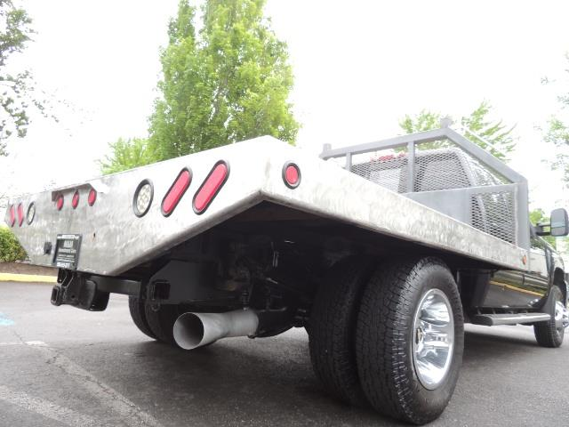 2011 Chevrolet Silverado 3500 LTZ DUALLY 4X4 FLAT BED 6.6L DURAMAX ALLISON - Photo 12 - Portland, OR 97217