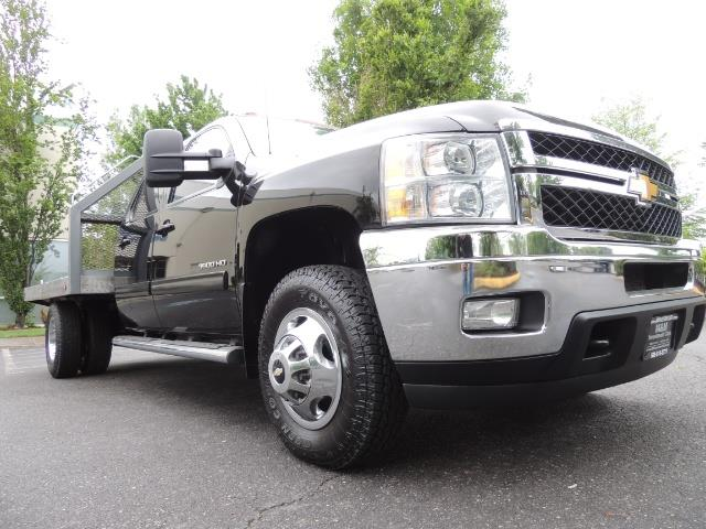 2011 Chevrolet Silverado 3500 LTZ DUALLY 4X4 FLAT BED 6.6L DURAMAX ALLISON - Photo 10 - Portland, OR 97217