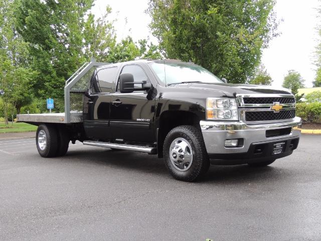 2011 Chevrolet Silverado 3500 LTZ DUALLY 4X4 FLAT BED 6.6L DURAMAX ALLISON - Photo 2 - Portland, OR 97217