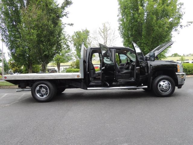 2011 Chevrolet Silverado 3500 LTZ DUALLY 4X4 FLAT BED 6.6L DURAMAX ALLISON - Photo 24 - Portland, OR 97217