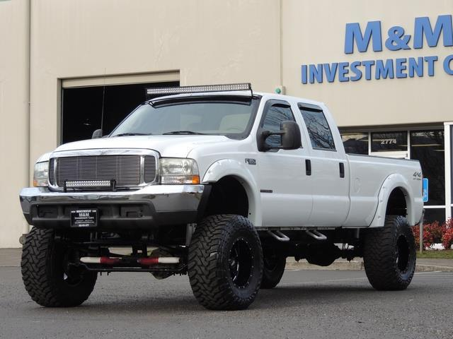 2000 Ford F-350 LARIAT 4X4 LONG BED / 7.3 DIESEL / MONSTER LIFTED - Photo 1 - Portland, OR 97217