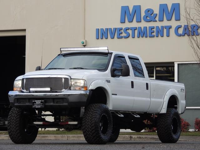 2000 Ford F-350 LARIAT 4X4 LONG BED / 7.3 DIESEL / MONSTER LIFTED - Photo 42 - Portland, OR 97217