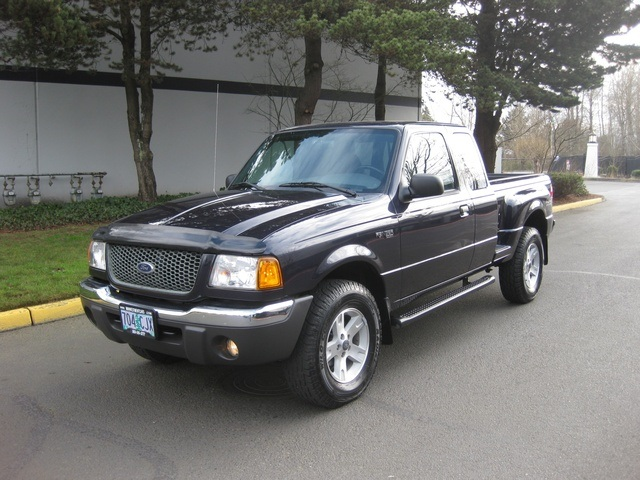 2002 Ford Ranger Edge Plus 4wd 6cyl Xtra Cab 4 Door
