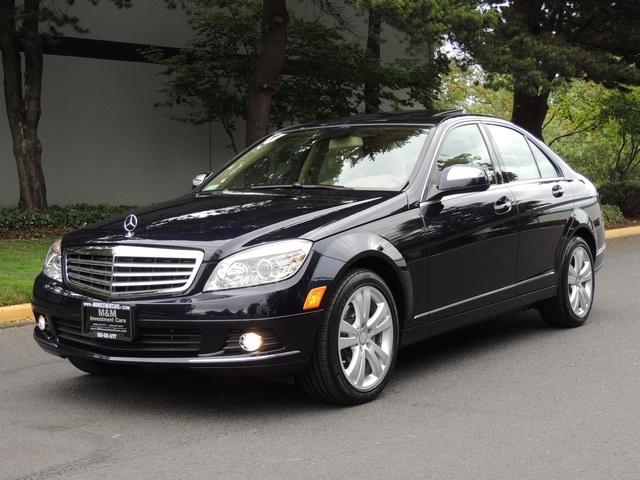 2008 mercedes benz c300 luxury loaded original 6 835 miles for Mercedes benz c300 luxury