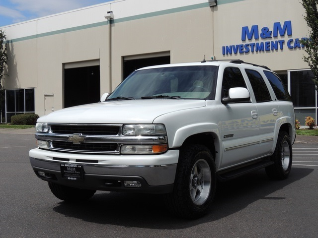 2002 Chevrolet Tahoe Lt 4x4 3rd Seat Leather Sunroof
