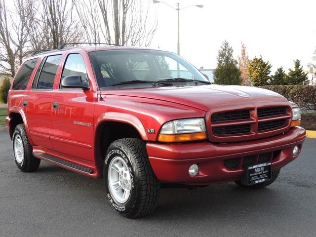 2000 Dodge Durango 4x4 Beautyonwheelsco