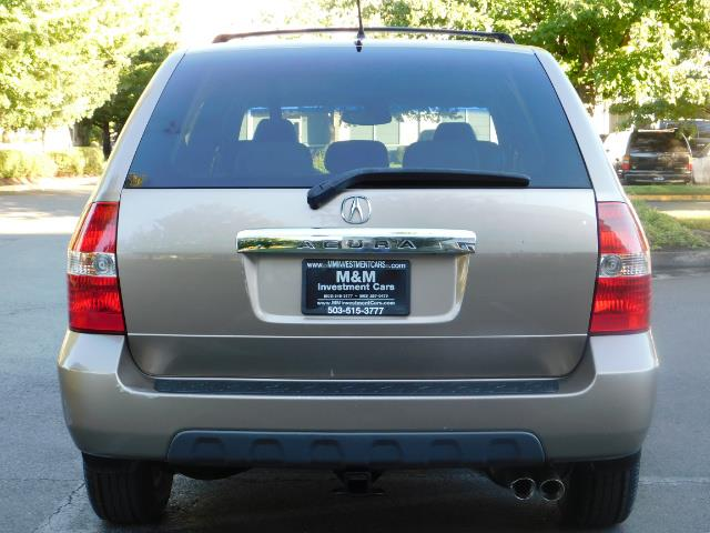 2003 Acura MDX Touring / AWD / 3RD Row Seats / DVD / MOON ROOF - Photo 6 - Portland, OR 97217