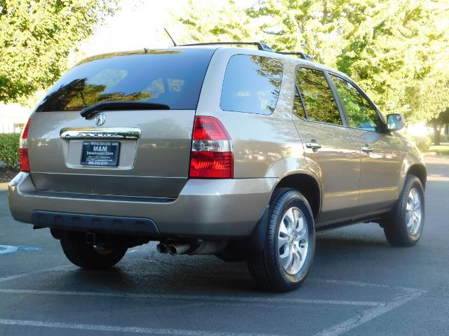 2003 Acura MDX Touring / AWD / 3RD Row Seats / DVD / MOON ROOF - Photo 8 - Portland, OR 97217