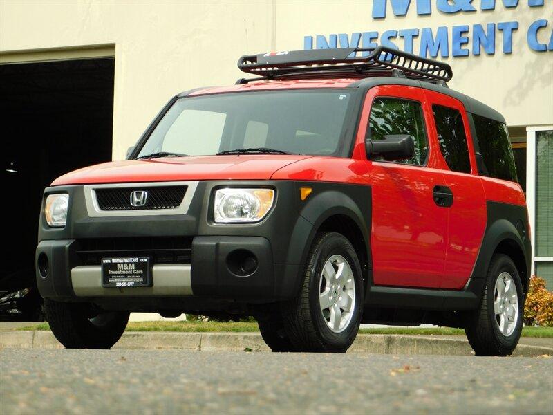 2005 Honda Element Ex Awd 5 Speed 1 Owner Sunroof Roof Rack