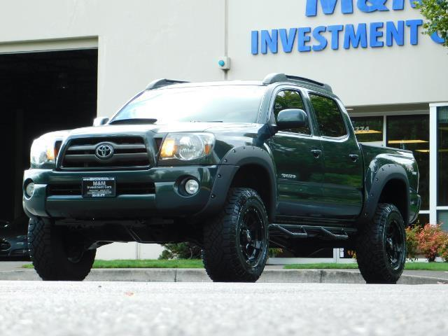 2009 Toyota Tacoma V6 4x4 Double Cab Trd 6 Manual Guide