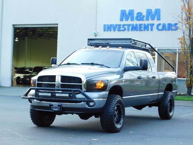 2006 Dodge Ram 2500 SLT Mega Cab / 4X4 / 5.9L Cummins Diesel / LIFTED - Photo 1 - Portland, OR 97217