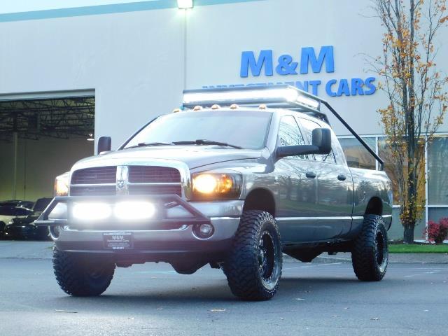 2006 Dodge Ram 2500 SLT Mega Cab / 4X4 / 5.9L Cummins Diesel / LIFTED - Photo 44 - Portland, OR 97217