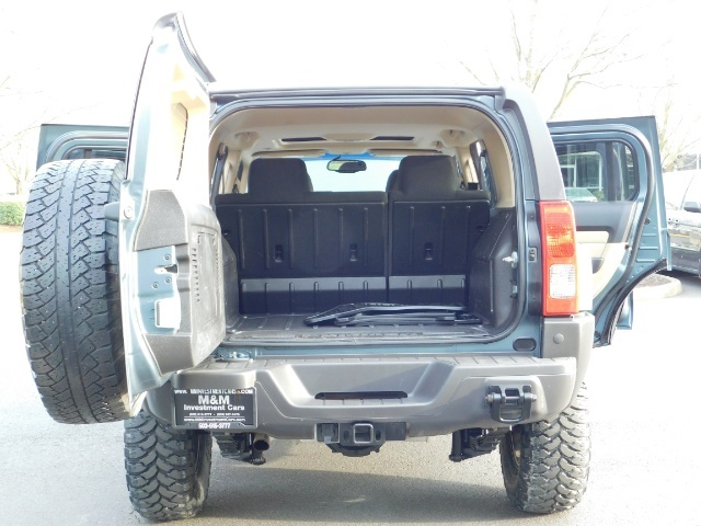 2006 Hummer H3 4dr SUV / 4WD / Sunroof / LIFTED / MUD TIRES - Photo 21 - Portland, OR 97217
