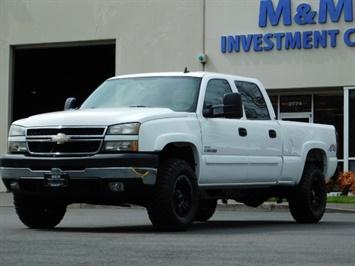 2006 Chevrolet Silverado 2500 LS / 4X4 / 6.6L Duramax Diesel / LBZ / 1-OWNER