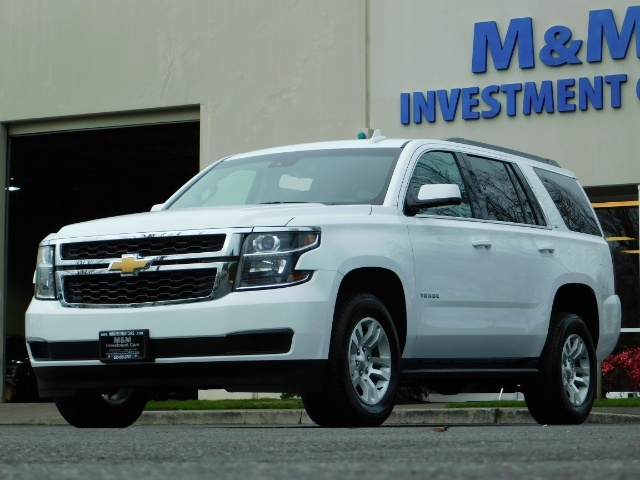 2017 Chevrolet Tahoe LT / 4WD / Third Seat / Naviagtion / Leather - Photo 49 - Portland, OR 97217