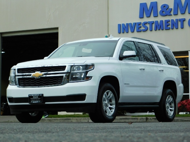 2017 Chevrolet Tahoe LT / 4WD / Third Seat / Naviagtion / Leather - Photo 1 - Portland, OR 97217