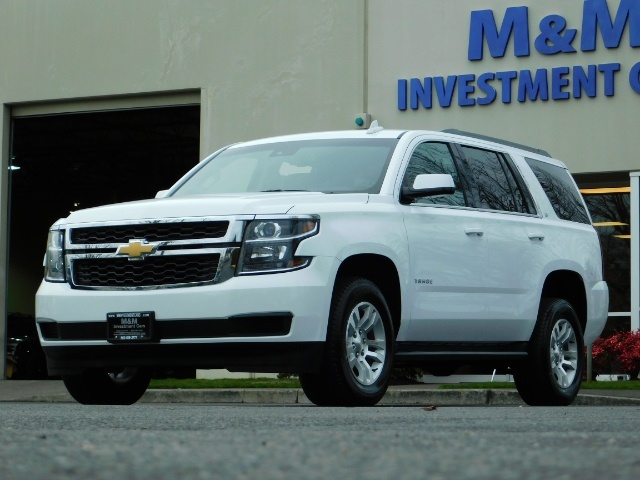 2017 Chevrolet Tahoe LT / 4WD / Third Seat / Naviagtion / Leather - Photo 48 - Portland, OR 97217