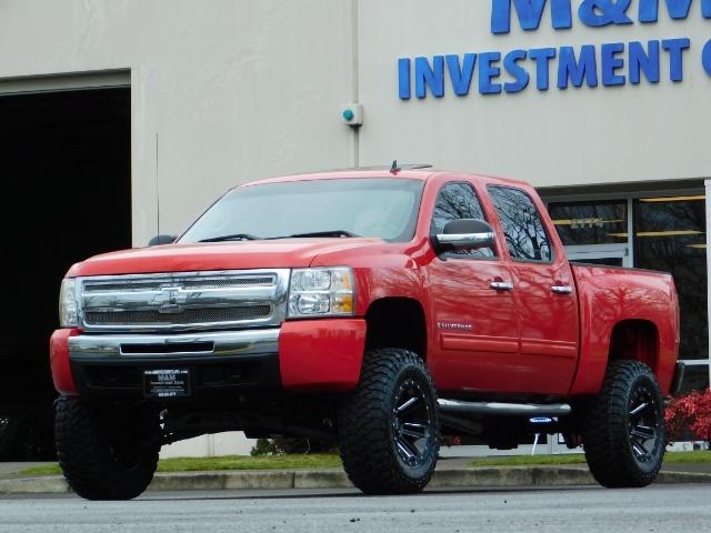 2009 Chevrolet Silverado 1500 LT / 4X4 / Crew Cab/ Leather/Sunroof /DVD/ LIFTED - Photo 52 - Portland, OR 97217