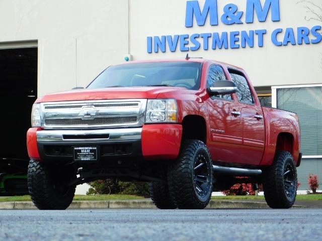 2009 Chevrolet Silverado 1500 LT / 4X4 / Crew Cab/ Leather/Sunroof /DVD/ LIFTED - Photo 51 - Portland, OR 97217