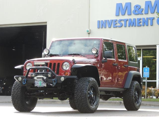 2011 Jeep Wrangler Unlimited Sport / 4X4 / 6-SPEED / LIFTED - Photo 46 - Portland, OR 97217