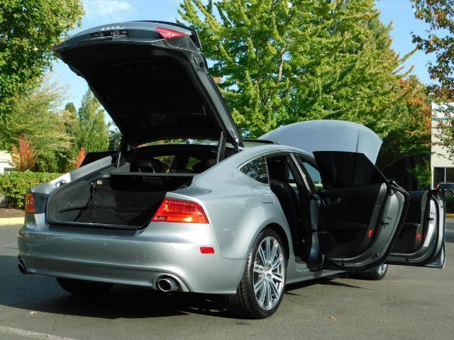 2014 Audi A7 3.0T quattro Premium Plus/ SUPERCHARGED / Prestine - Photo 30 - Portland, OR 97217