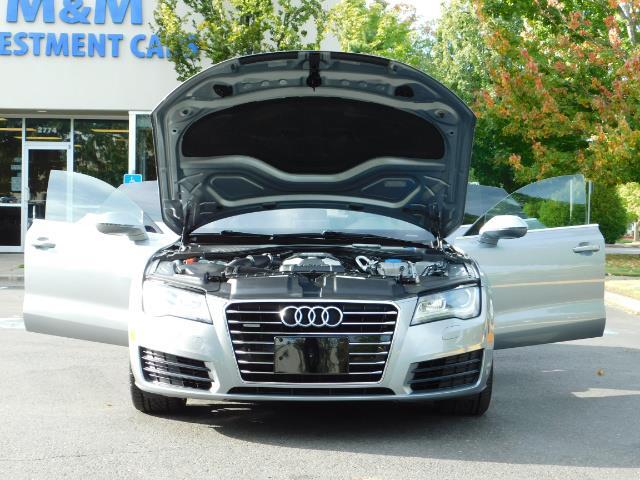 2014 Audi A7 3.0T quattro Premium Plus/ SUPERCHARGED / Prestine - Photo 32 - Portland, OR 97217