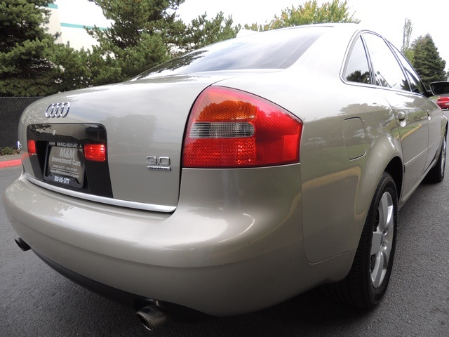 2003 Audi A6 3.0 quattro/ AWD/ Leather/ Excel Cond - Photo 40 - Portland, OR 97217