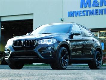 2015 BMW X6 xDrive35i / AWD / 1-OWNER / Navi / Heated seats